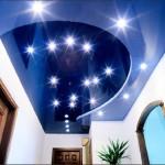 Освещение для натяжных потолков