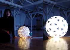 Надувная лампа Lampad'air от Aïssa Logerot