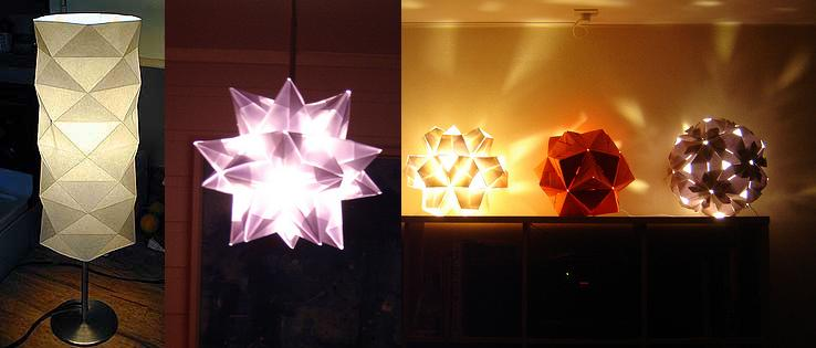 lamps origami