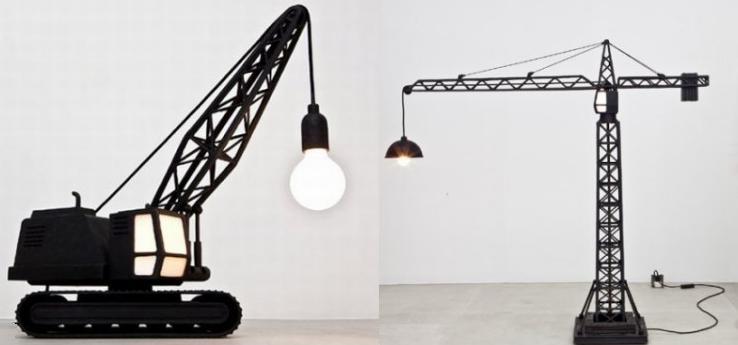 Креативные светильники от Studio Job