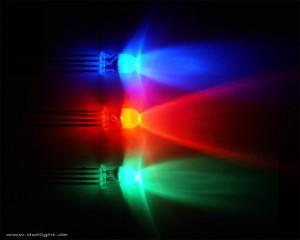 RGB-светодиоды красота цвета