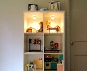 Подсветка книжных и других полок