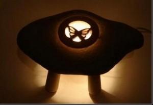 Светильники-камни от Shibaya