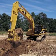 Аренда экскаваторов для строительных работ